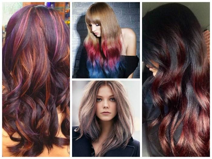 Окраска волос колорирование волос